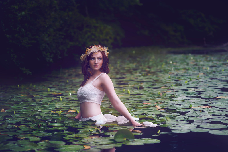 Maiden of the Lily Pads