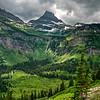 Reynolds Mountain | Approaching Storm | Glacier National Park