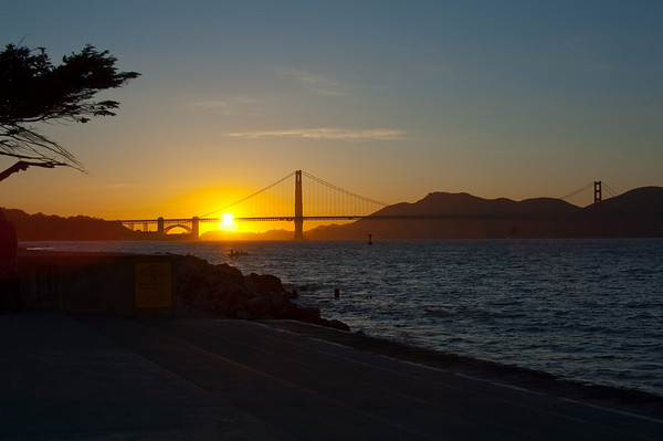 Golden Gate Bridge at Sunset II