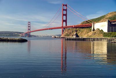 Golden Gate Bridge - April 2008