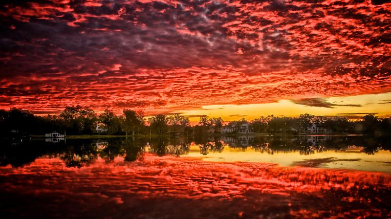 WPP2964 Fire in the Sky , Lake Virginia