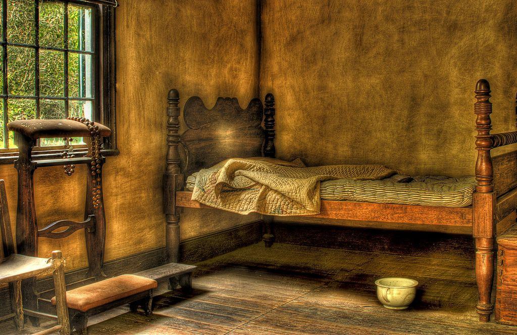 Plantation bedroom