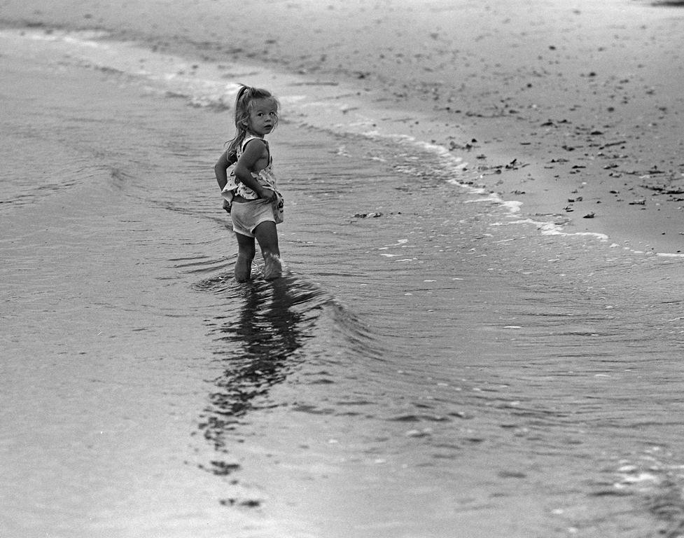 Charmane on beach