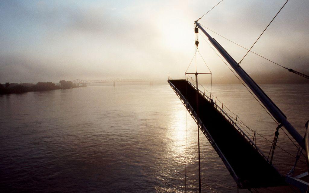 Dawn approaching Natchez