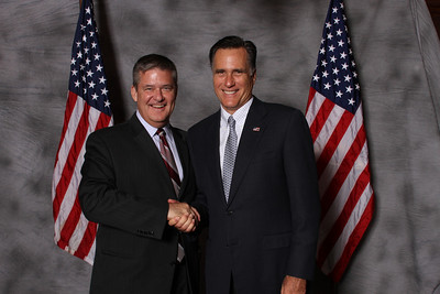 Gov. Romney at Maggiano's