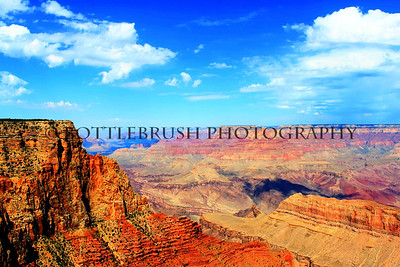 Along the East Rim Drive of the Grand Canyon.