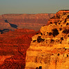 Just Before Sunset at the Grand Canyon in Arizona 3