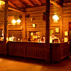 Check in at the Bright Angel Lodge at the Grand Canyon in Arizona