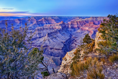 Grand Canyon Winter Sunset