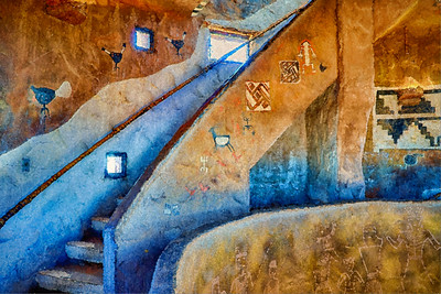 Grand Canyon Inside Steps Painted