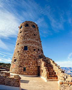 Grand Canyon Tower Fisheye