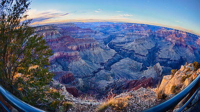 Grand Canyon Winter Sunset