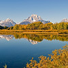 Oxbow Bend with Mt. Moran in late September, 2006