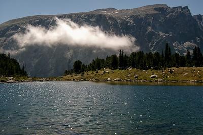 Lake Mary in the Absaroka-Beartooth wilderness.