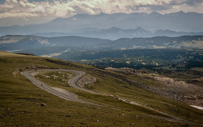 The Beartooth Highway, Montana 2004