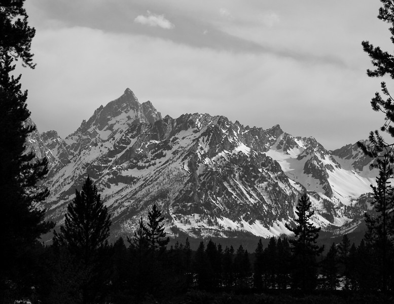 Tetons from Colter Bay