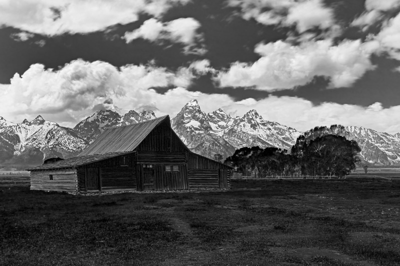 South Moulton Barn and Tetons