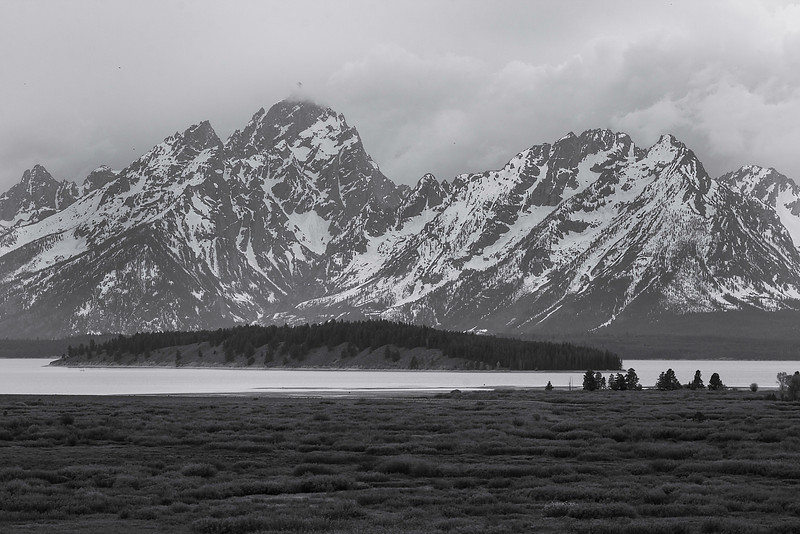 Tetons from Jackson Lake Lodge