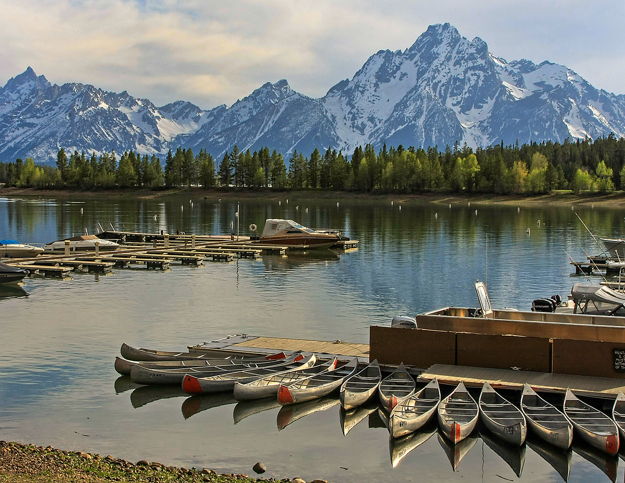 Tetons and Colter Bay
