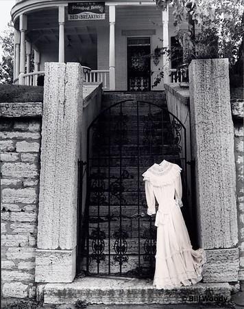 A Dress on a Gate
