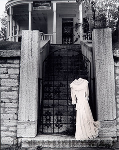 Dress on a Gate (at the Steamboat House B&B)