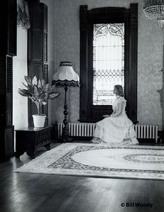 White Dress in the Parlor