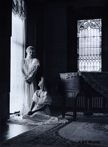 Two Girls at the Window