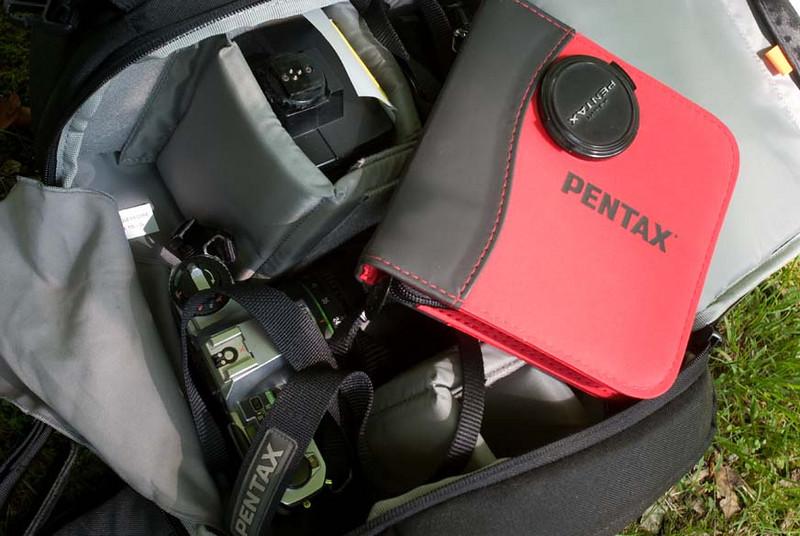 A Pentaxian's bag