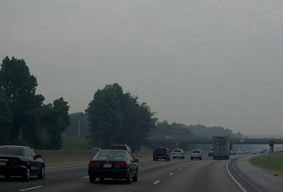 Smoke from the wildfires in South Georgia had invaded Atlanta