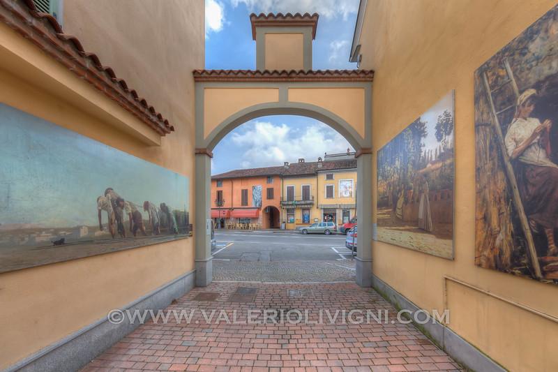 A street in Gravellona Lomellina