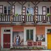 Cortile in Corso Insurrezione - A courtyard in Insurrezione Ave.