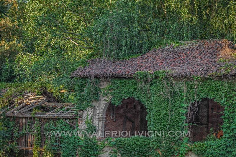Courtyard in vicolo Conti Barbavara - Gravellona Lomellina