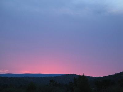 Sunset, First Night in Sedona