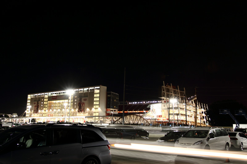 the new San Jose stadium