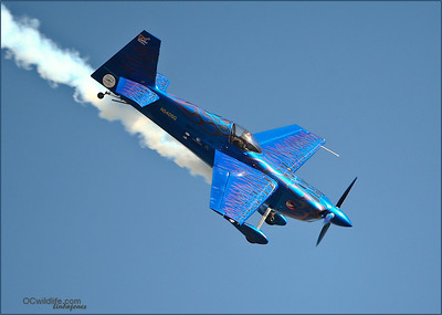A woman pilot. She was amazing, triple flips with engine cutout, etc..