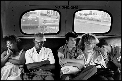 USA. New York City. 1959. Brooklyn Gang.