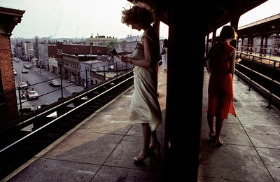 USA. New York City. 1980. Subway.