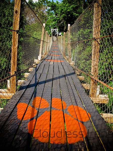 Pawhuska Swinging Bridge