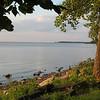 Lakeshore on Green Bay, Lake Michigan