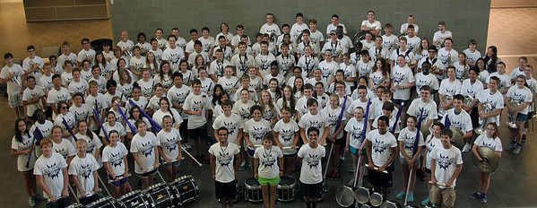 2015-16 CSHS Cougar Band Group Picture