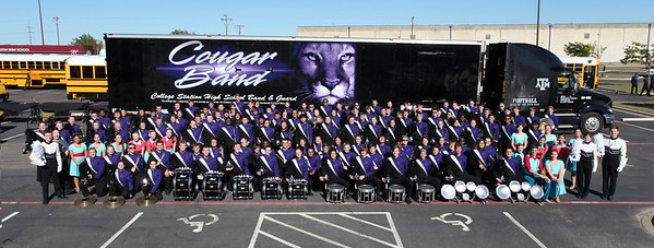 UIL Marching Contest Group Photo 10/21/2016