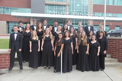 CSHS Choir UIL Concert & Sight-Reading Contest 04/19/2017