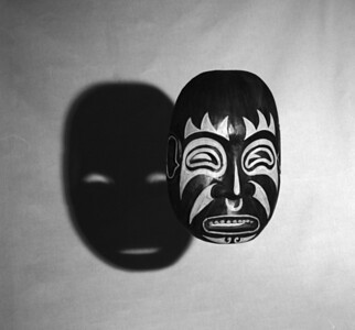 Untitled (In Masks-Masks Wall Five)