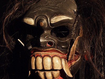 The Eye (In Masks-Masks Wall Three)