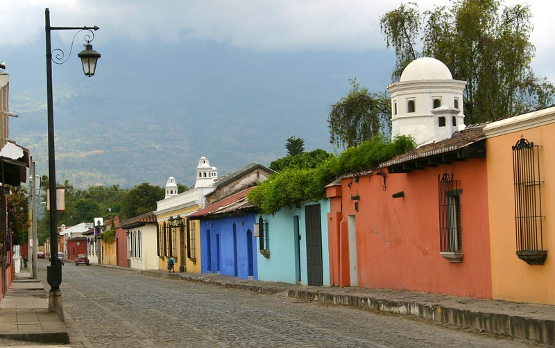Side street in Antigua