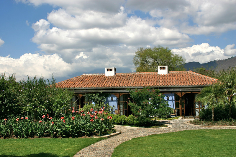The rooms at Hotel Quinta de las Flores- Antigua