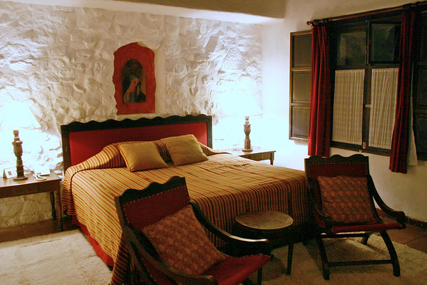 Our room at Hotel Quinta de las Flores- Antigua