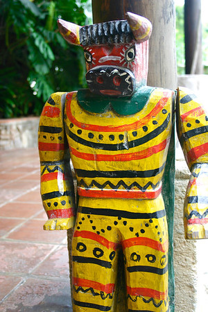 Guatemalan folk art at Hotel Quinta de las Flores- Antigua