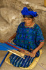 #GP 101 Woman Weaving with Backstrap Loom, Santa Catarina Palopo, Guatemala