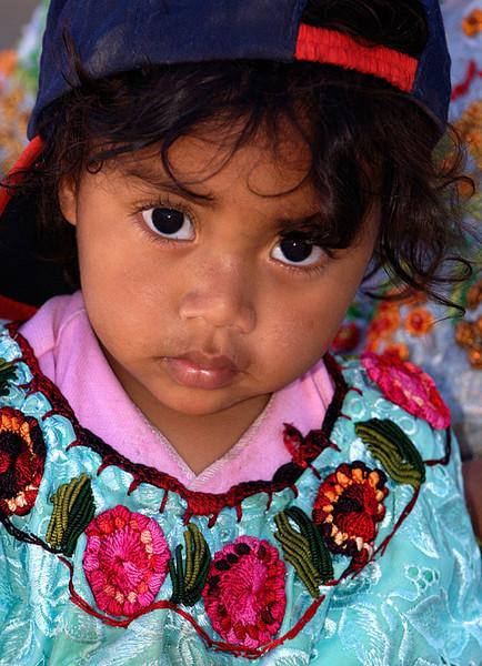 #GP 036 Young Girl, Guatemala
